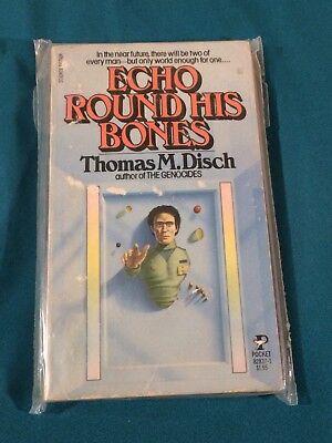 Echo Round His Bones By Thomas M Disch Pocket 82837-1 Sci-Fi