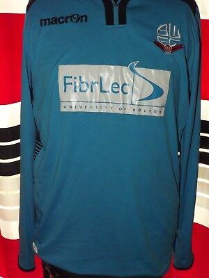 2014-15 Bolton Third L/S (L) Jersey Trikot Maillot Shirt Maglia Camiseta image