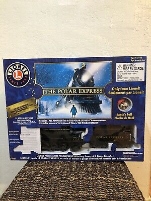 """""""LIONEL""""The Polar Express Deluxe Lights & Sounds Collectible Christmas Train Set"""