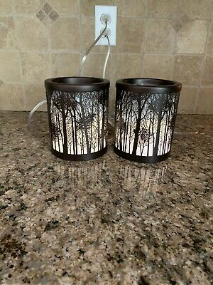 Yankee Candle Wax Warmer Brown Branches (Set Of Two)
