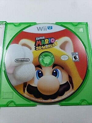 Super Mario 3D World (Nintendo Wii U, 2013) Game Disc Only - Free Shipping