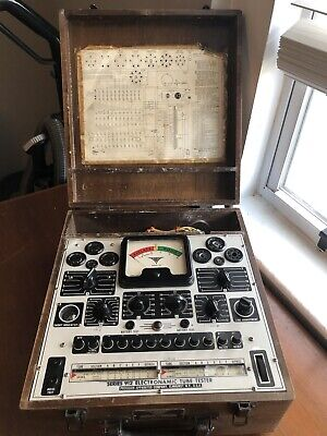 Precision Series 912 Electronamic Tube Tester Works Read Description