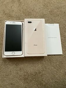 Iphone 8 plus 64gb gold brand new with apple care plus warranty