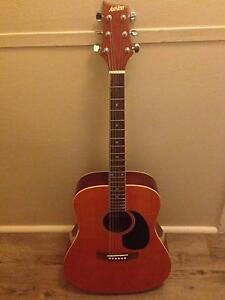 Aston Guitar with accessories Springfield Gosford Area Preview