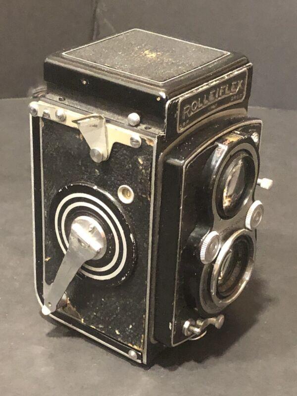 Rolleiflex Franks & Heidecke DRP DRGM Camera Carl Zeiss Xenar 7.5cm F3.5
