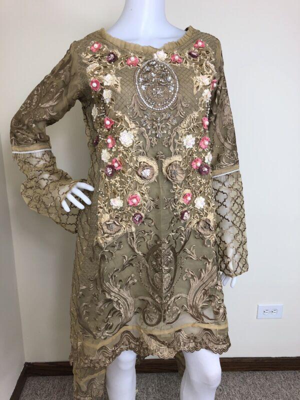 Pakistani Indian formal designer Salwar Kameez Party Wear M, L