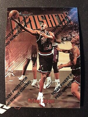 1997-98 Topps Finest Michael Jordan #39 With Coating