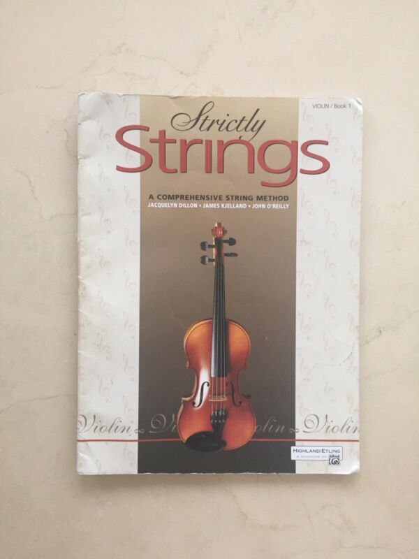 Strictly Strings Violin Book 1