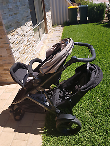 Steelcraft strider plus double pram with second seat Perth Perth City Area Preview