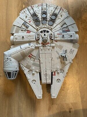 Star Wars The Force Awakens Battle Action Millenium Falcon Toy LFL Hasbro #B3678