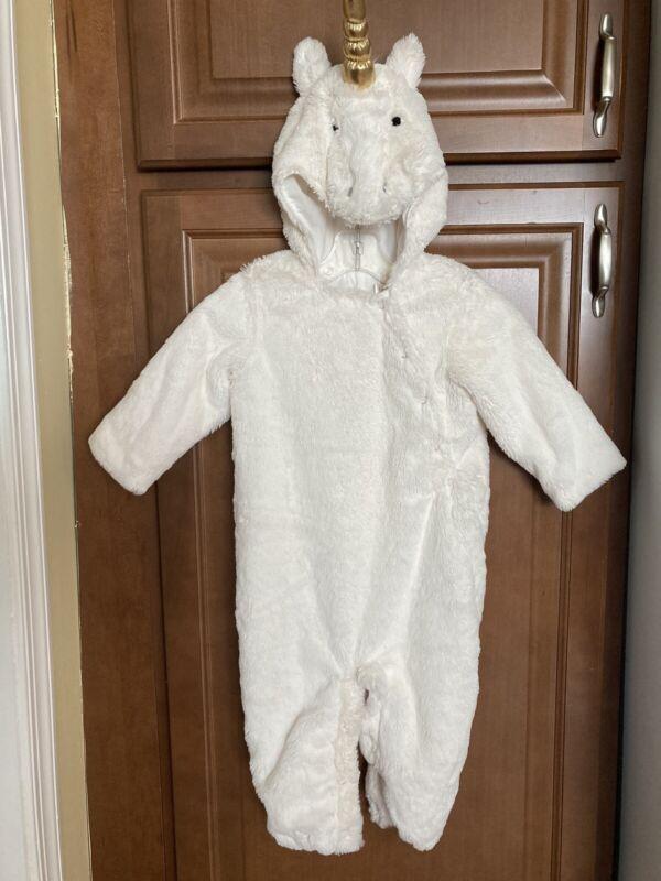 Pottery Barn Kids Unicorn Costume. Size 12-24 Month EUC
