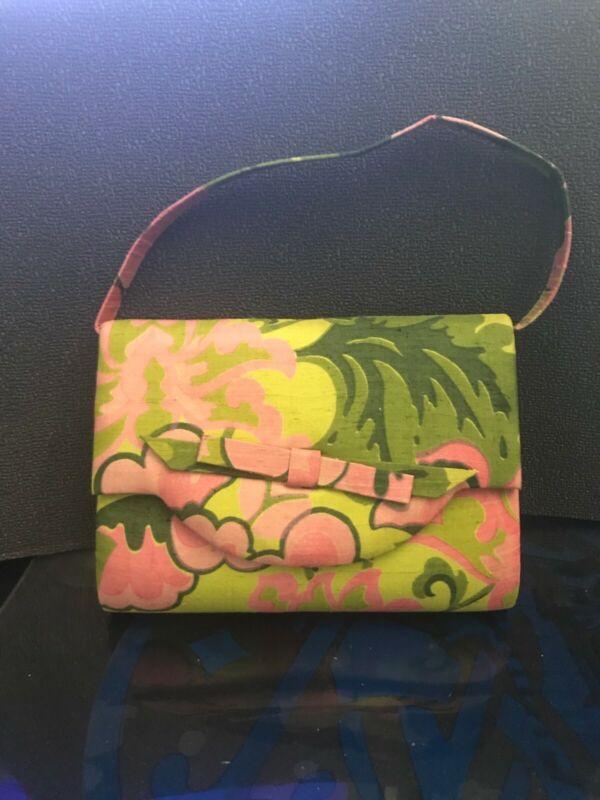 Handbag 100% Pure Silk Especially Hand Woven in Siam