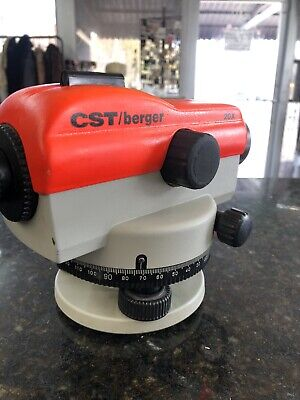 Cstberger 20x Level In Case Great Pre-owned Condition