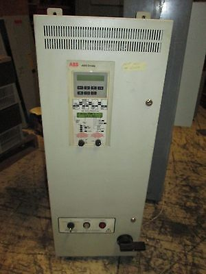 Abb Ach501 Ac Drive W Bypass Ach501-015-4-00p2 15hp Used