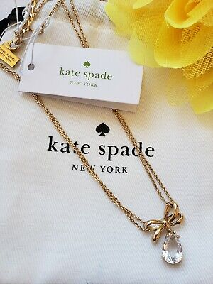 *kate spade* Tied Up Necklace- New with Tags