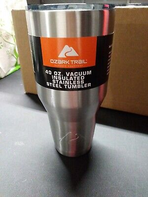 Ozark Trail 40oz Vacuum Sealed Stainless Steel Tumbler w/ Lid for sale  Shipping to South Africa