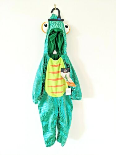 New Toddler 18-24 Month Chameleon Outfit Costume -Ships Free  Halloween Dress up