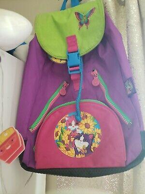 Lisa Frank Kittens Canvas Backpack
