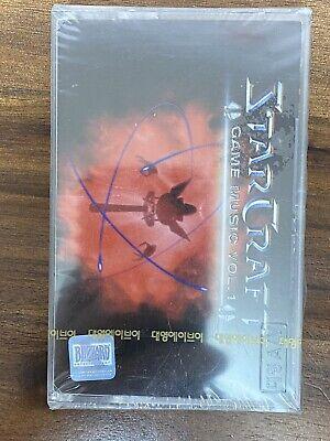StarCraft - Game Music Vol.1 2000 KOREA Cassette Factory Sealed
