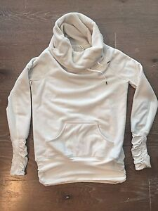 Lululemon Don't Hurry Be Happy Fleece Pullover Size 6