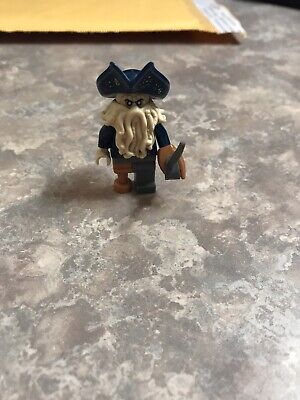 LEGO Pirates Of The Caribbean Davy Jones Minifigure From The Black Pearl 4184
