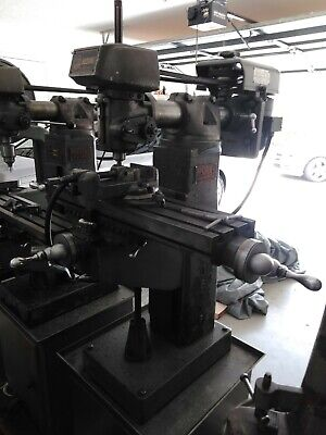 Clausing Vertical Milling Machines Model 8525 With Additional Tooling