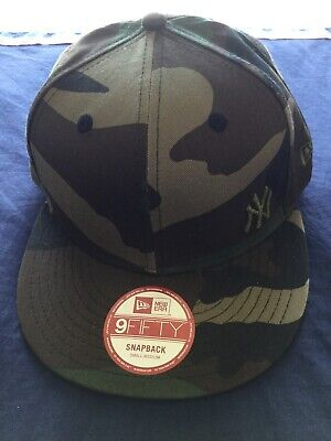 New York Yankees Camo 9fifty New Era SnapBack Hat