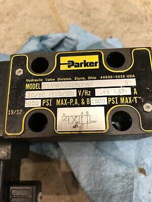 Parker D1vw020bnywf 5000psi 120v Hydraulic Valve