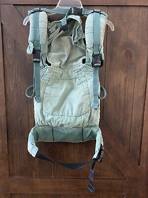 Ergo Baby Carrier - Green - Organic  Pre - Owned
