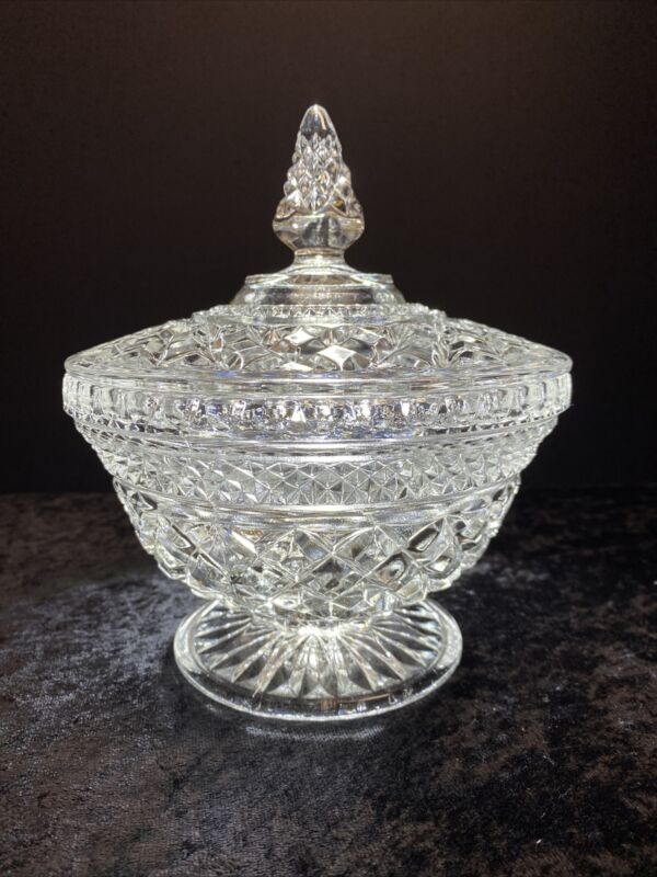 Large Anchor Hocking Wexford Candy Dish