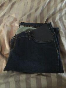 Maternity jeans size L