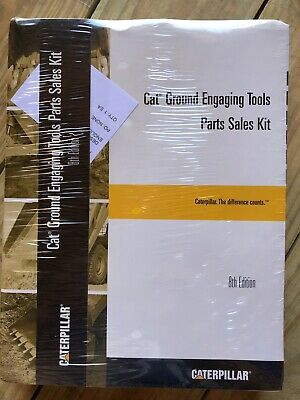 Cat Caterpillar Ground Engaging Tools Manual Parts Sales Kit 8th Edition Sealed