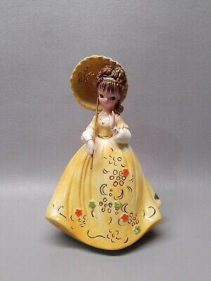 Josef Originals girl with umbrella figurine 8 1/4