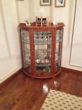 Lead light glass crystal cabinet Epping Whittlesea Area Preview