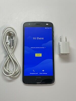 Motorola Moto Z2 Force XT1789 64GB Black Verizon + GSM Unlocked Smartphone 7/10~