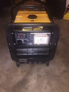 Subaru RG4300is Inverter Generator Commercial With RCDS, Lift Kit Caloundra Caloundra Area Preview