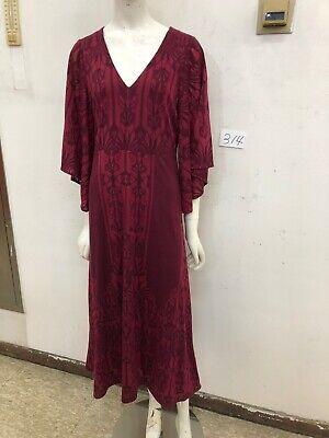 Akemi + Kin for Anthropologie Isolde Bell Sleeve Dress Size M