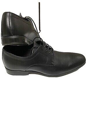 Calvin Klein Dress Shoes Mens 8.5 Black Mew NWOB Oxfords