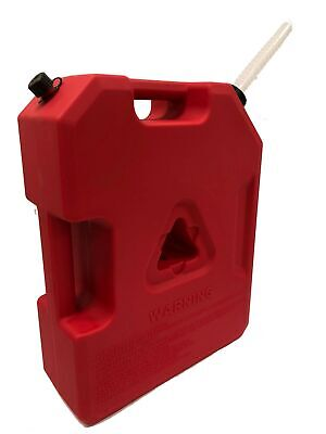 3 Gallon Plastic Jerry Can Spare Fuel Gasoline Water Container Tank Off Road