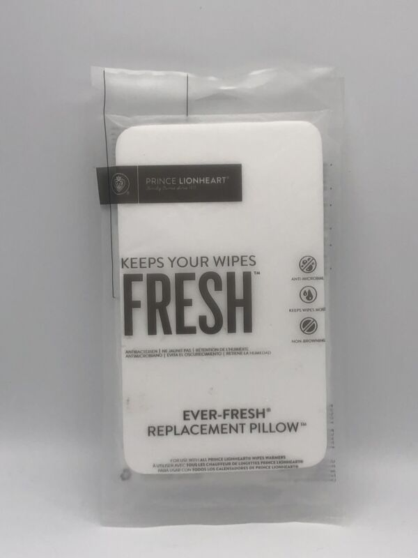 Prince Lionheart 2 Pack Ever-Fresh System Wipe Warmer Replacement Pillows