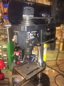 """Drill press 8"""" add is up then still here"""