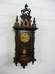 Antique German Wall Clock Junghans Antique Wall Clock Regulator