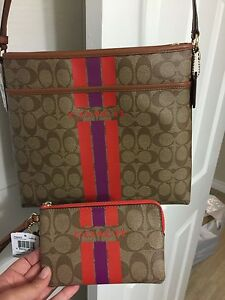 BNWT authentic 2 piece COACH set!!!