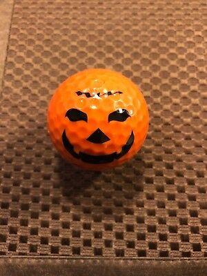 Halloween Golf Ball (LOGO GOLF BALL-PUMPKIN..HALLOWEEN..JACK-O-LANTERN....ORANGE)
