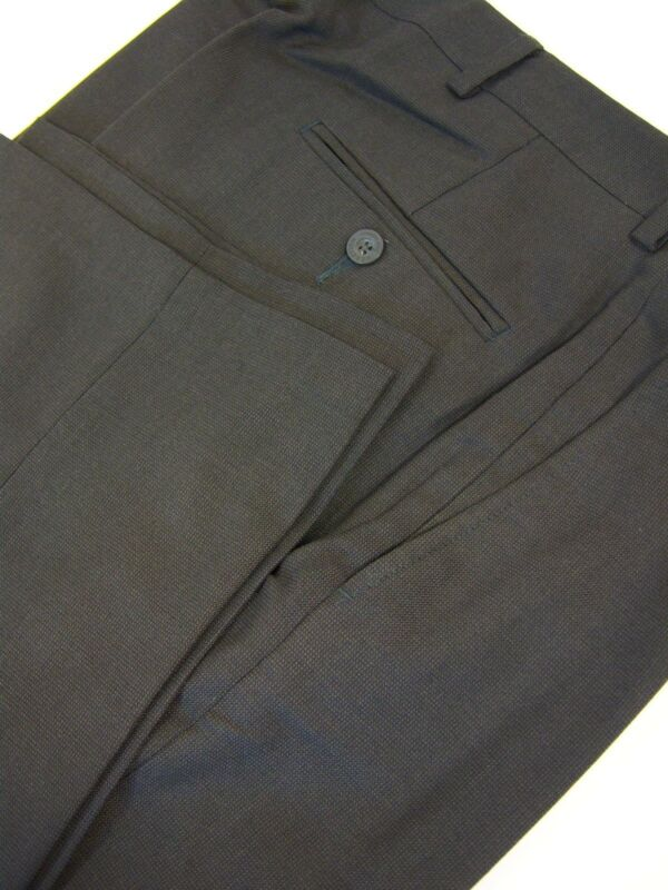 Kenneth Cole Reaction *  Mens Charcole Dress Pants.. Polyester/Rayon Blend Hound