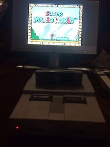 Super Nintendo systems & games