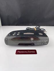 GE General Electric Green LED Digital AM/FM Radio Alarm Clock Model 7-4836B