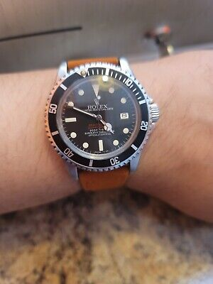 Rolex Sea-Dweller Submariner 'Double Red' DRSD 40mm Vintage Watch 1665 pat.pend