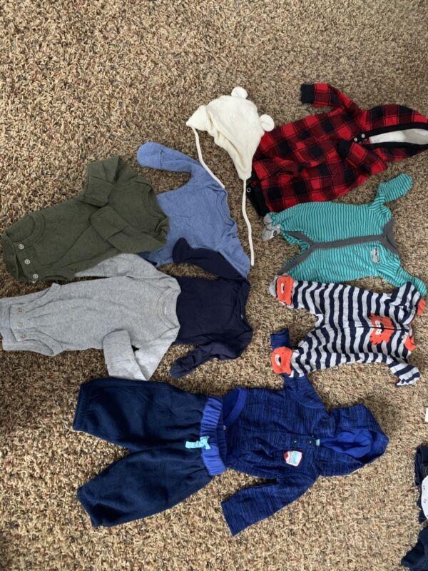 Lot Of Newborn Baby Boy Clothes