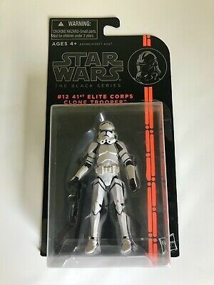 Star Wars Figure black series 41st Elite Corps Clone Trooper #12 Brand New.